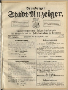 Bromberger Stadt-Anzeiger, J. 25, 1908, nr 77