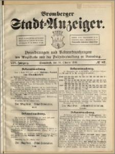 Bromberger Stadt-Anzeiger, J. 25, 1908, nr 87