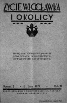 Życie Włocławka i Okolicy 1927, Luty, nr 2