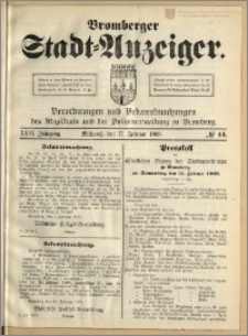 Bromberger Stadt-Anzeiger, J. 26, 1909, nr 14
