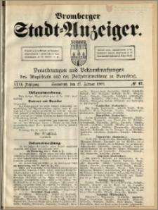 Bromberger Stadt-Anzeiger, J. 26, 1909, nr 17