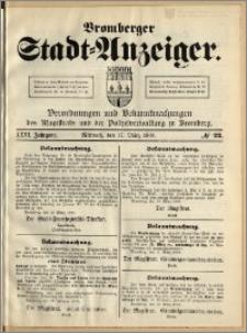 Bromberger Stadt-Anzeiger, J. 26, 1909, nr 22