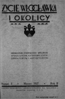 Życie Włocławka i Okolicy 1927, Marzec, nr 3