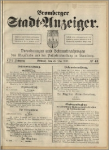 Bromberger Stadt-Anzeiger, J. 26, 1909, nr 42