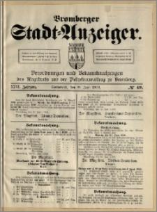 Bromberger Stadt-Anzeiger, J. 26, 1909, nr 49