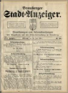 Bromberger Stadt-Anzeiger, J. 26, 1909, nr 58