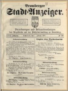 Bromberger Stadt-Anzeiger, J. 27, 1910, nr 10