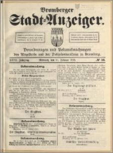 Bromberger Stadt-Anzeiger, J. 27, 1910, nr 13