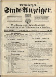 Bromberger Stadt-Anzeiger, J. 27, 1910, nr 18