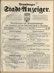 Bromberger Stadt-Anzeiger, J. 27, 1910, nr 19