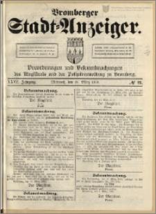 Bromberger Stadt-Anzeiger, J. 27, 1910, nr 21