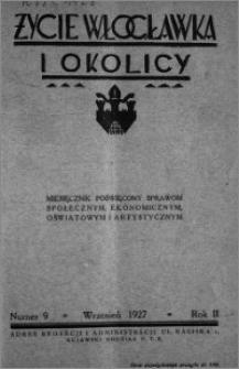 Życie Włocławka i Okolicy 1927, Wrzesień, nr 9