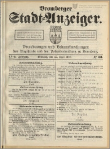 Bromberger Stadt-Anzeiger, J. 27, 1910, nr 33