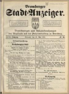 Bromberger Stadt-Anzeiger, J. 27, 1910, nr 41