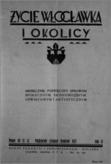 Życie Włocławka i Okolicy 1927, Październik - Listopad - Grudzień, nr 10-11-12