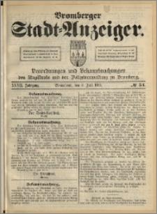 Bromberger Stadt-Anzeiger, J. 27, 1910, nr 54