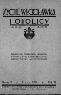 Życie Włocławka i Okolicy 1928, Luty, nr 2