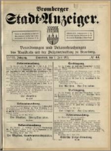Bromberger Stadt-Anzeiger, J. 28, 1911, nr 44