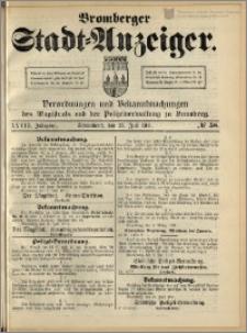 Bromberger Stadt-Anzeiger, J. 28, 1911, nr 58