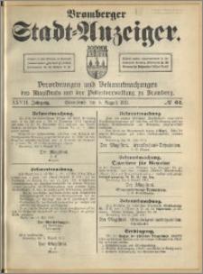 Bromberger Stadt-Anzeiger, J. 28, 1911, nr 62