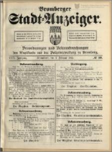 Bromberger Stadt-Anzeiger, J. 29, 1912, nr 10