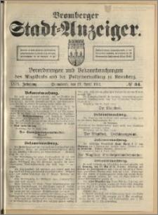 Bromberger Stadt-Anzeiger, J. 29, 1912, nr 34