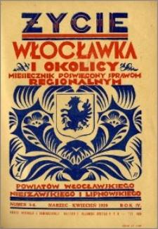 Życie Włocławka i Okolicy 1929, Marzec - Kwiecień, nr 3-4