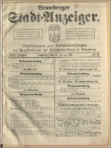 Bromberger Stadt-Anzeiger, J. 30, 1913, nr 5