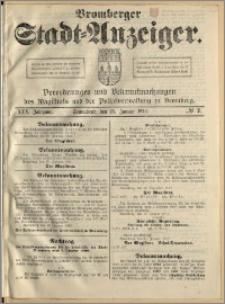 Bromberger Stadt-Anzeiger, J. 30, 1913, nr 7