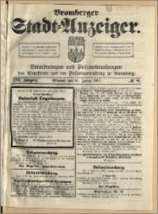 Bromberger Stadt-Anzeiger, J. 30, 1913, nr 8