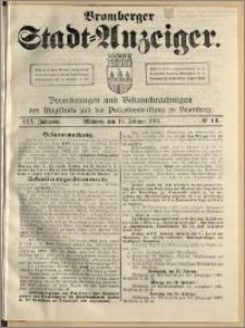 Bromberger Stadt-Anzeiger, J. 30, 1913, nr 14