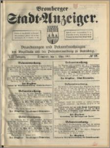 Bromberger Stadt-Anzeiger, J. 30, 1913, nr 17