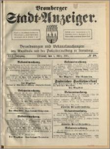 Bromberger Stadt-Anzeiger, J. 30, 1913, nr 18
