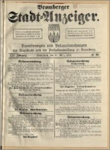 Bromberger Stadt-Anzeiger, J. 30, 1913, nr 21