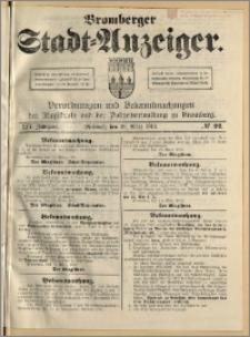 Bromberger Stadt-Anzeiger, J. 30, 1913, nr 22