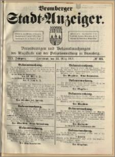 Bromberger Stadt-Anzeiger, J. 30, 1913, nr 23