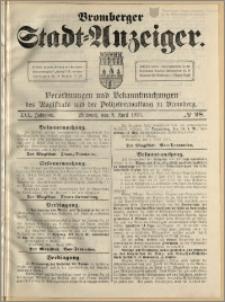 Bromberger Stadt-Anzeiger, J. 30, 1913, nr 28