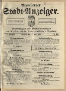 Bromberger Stadt-Anzeiger, J. 30, 1913, nr 30