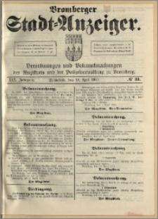 Bromberger Stadt-Anzeiger, J. 30, 1913, nr 31