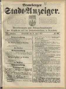 Bromberger Stadt-Anzeiger, J. 30, 1913, nr 33