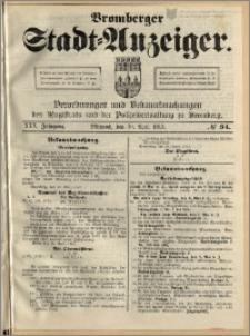 Bromberger Stadt-Anzeiger, J. 30, 1913, nr 34