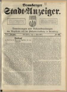 Bromberger Stadt-Anzeiger, J. 30, 1913, nr 35