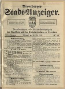 Bromberger Stadt-Anzeiger, J. 30, 1913, nr 40
