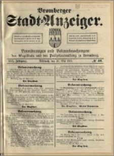 Bromberger Stadt-Anzeiger, J. 30, 1913, nr 42