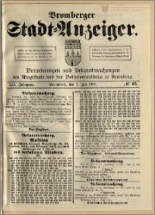 Bromberger Stadt-Anzeiger, J. 30, 1913, nr 45