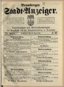 Bromberger Stadt-Anzeiger, J. 30, 1913, nr 49