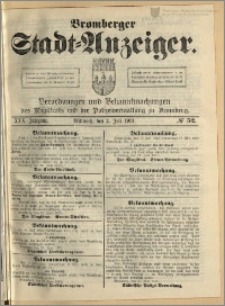 Bromberger Stadt-Anzeiger, J. 30, 1913, nr 52