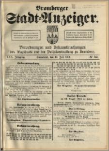 Bromberger Stadt-Anzeiger, J. 30, 1913, nr 57