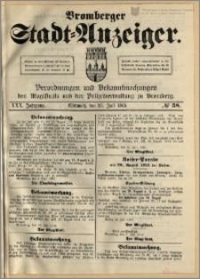 Bromberger Stadt-Anzeiger, J. 30, 1913, nr 58