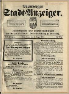 Bromberger Stadt-Anzeiger, J. 30, 1913, nr 61